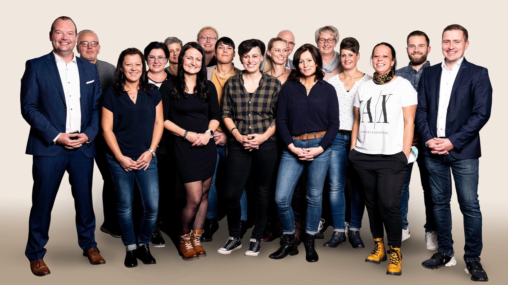 Miacosa Pflege-Gruppe Team